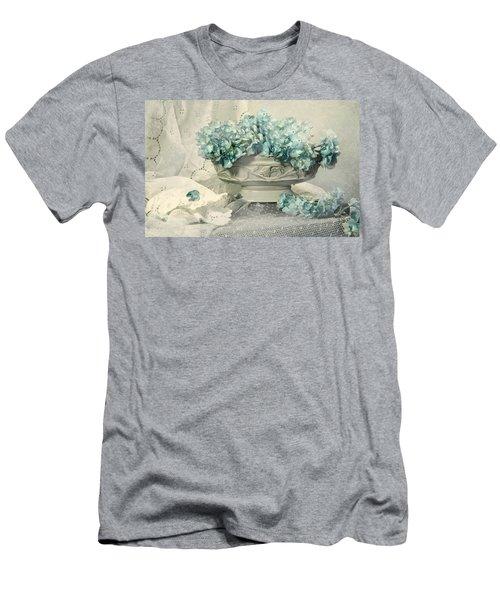 Blue Heart Men's T-Shirt (Athletic Fit)