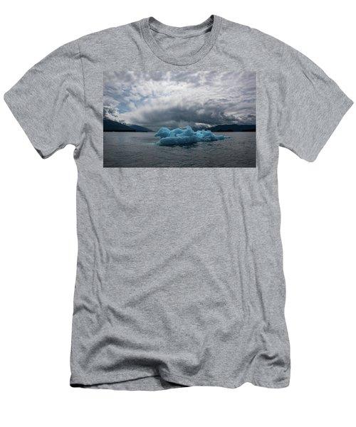 Blue Horse Men's T-Shirt (Athletic Fit)
