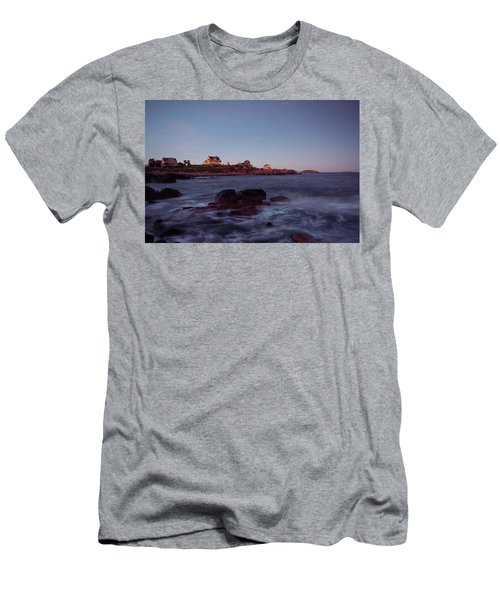 Blue Hour In Gloucester Men's T-Shirt (Athletic Fit)