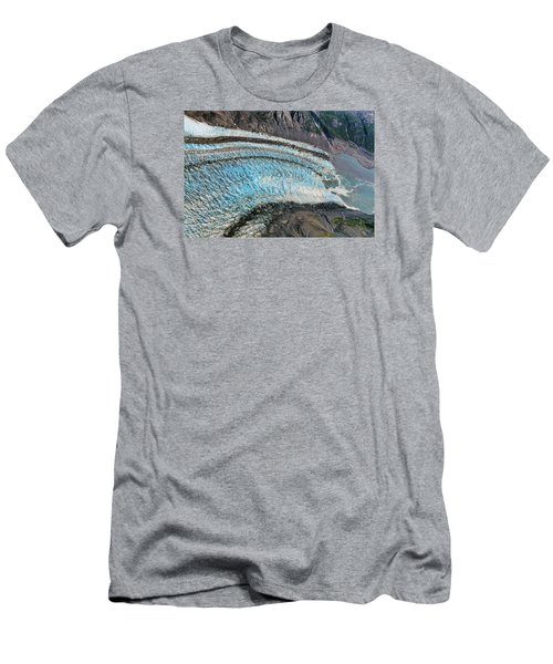 Blue Ice Glacier Alaska Men's T-Shirt (Athletic Fit)