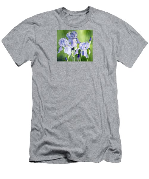 Blue Iris Men's T-Shirt (Athletic Fit)