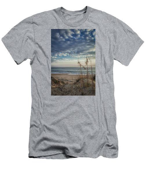 Blue Morning Men's T-Shirt (Slim Fit) by David Cote