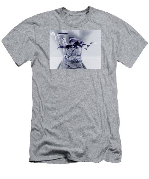 Blue Men's T-Shirt (Slim Fit) by Rajiv Chopra