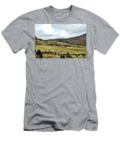 Blue Ridge Homestead Men's T-Shirt (Athletic Fit)