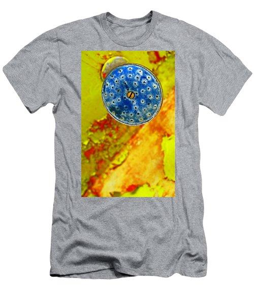 Blue Shower Head Men's T-Shirt (Athletic Fit)