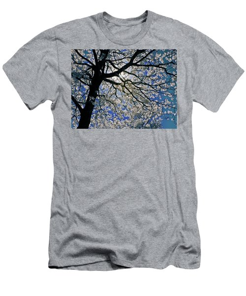 Men's T-Shirt (Slim Fit) featuring the photograph Blue Skies Smiling At Me by Linda Unger