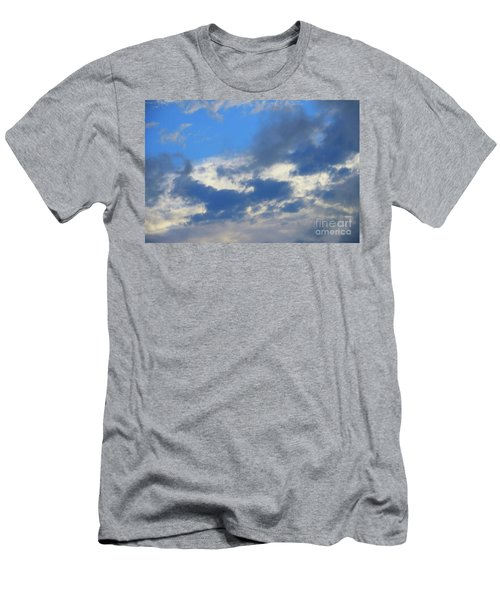 Blue Two Men's T-Shirt (Slim Fit) by Jesse Ciazza