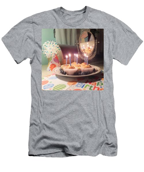 Blueberry Muffin Birthday Men's T-Shirt (Athletic Fit)