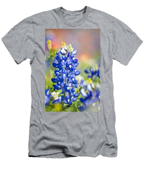 Bluebonnet 1 Men's T-Shirt (Athletic Fit)