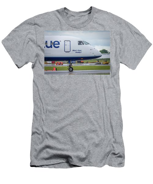 Men's T-Shirt (Athletic Fit) featuring the photograph Blue's Your Daddy? by Guy Whiteley