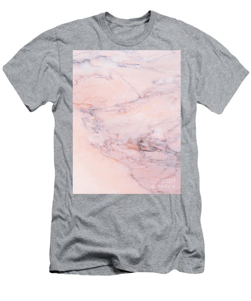 Blush Marble Men's T-Shirt (Athletic Fit)