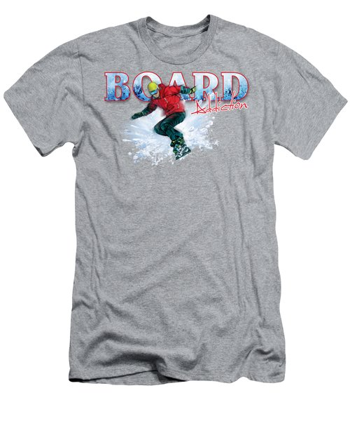 Board Addiction Men's T-Shirt (Athletic Fit)