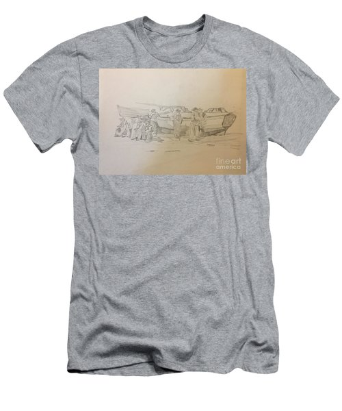 Boat Crew Men's T-Shirt (Athletic Fit)