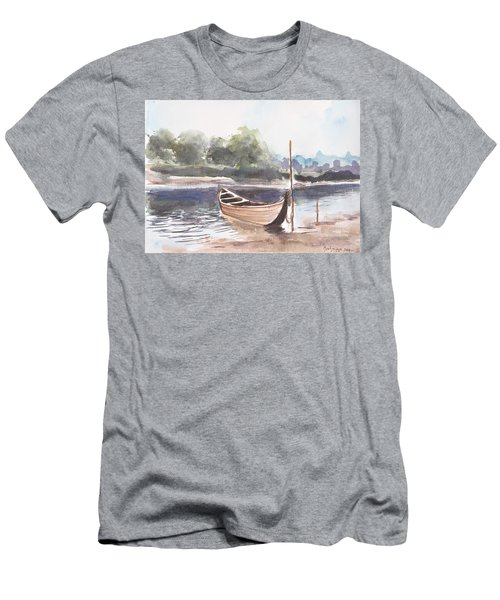 Boat Ride Men's T-Shirt (Athletic Fit)