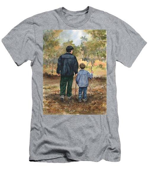 Bob And Alex Men's T-Shirt (Slim Fit) by Sam Sidders