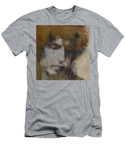 Bob Dylan - The Times They Are A Changin' Men's T-Shirt (Athletic Fit)