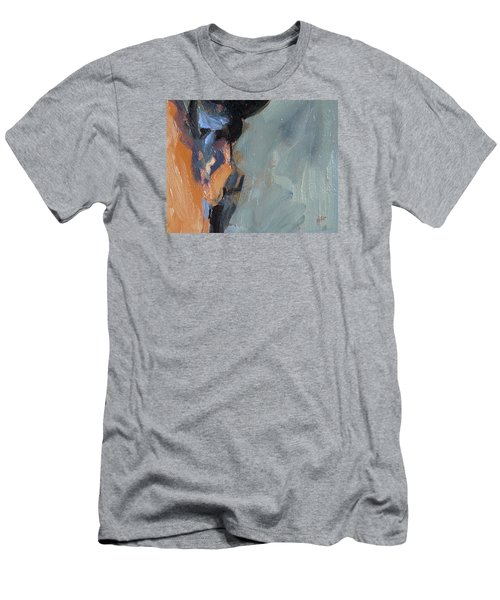 Men's T-Shirt (Slim Fit) featuring the painting Bob S Ear by Nop Briex