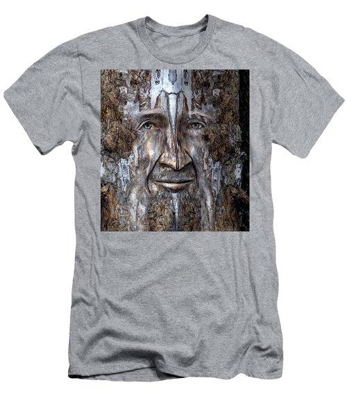 Bobby Smallbriar Men's T-Shirt (Slim Fit) by Rick Mosher
