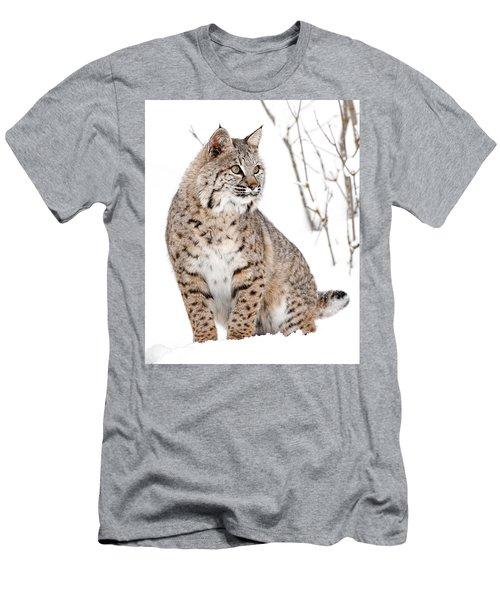 Bobcat Winter Men's T-Shirt (Athletic Fit)