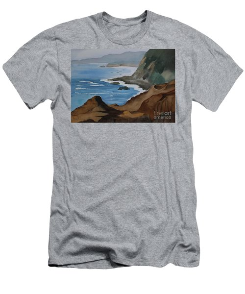 Bodega Bay Men's T-Shirt (Athletic Fit)