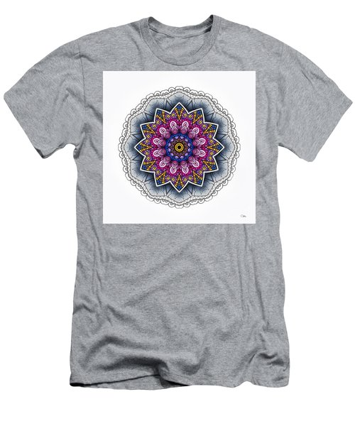 Men's T-Shirt (Slim Fit) featuring the digital art Boho Star by Mo T