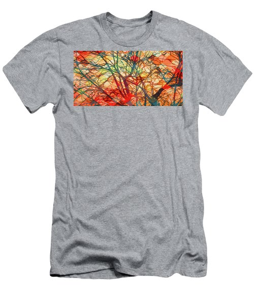 Bold And Colorful Men's T-Shirt (Athletic Fit)