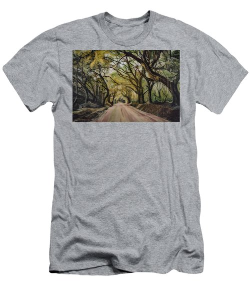 Bombay Road Men's T-Shirt (Slim Fit) by Ron Richard Baviello