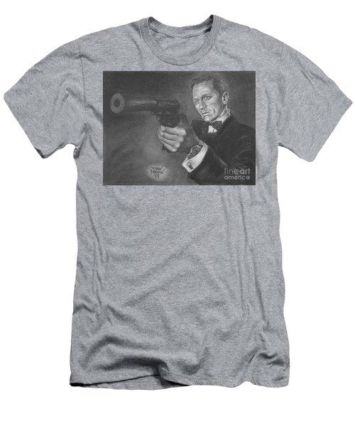 Bond Portrait Number 3 Men's T-Shirt (Athletic Fit)