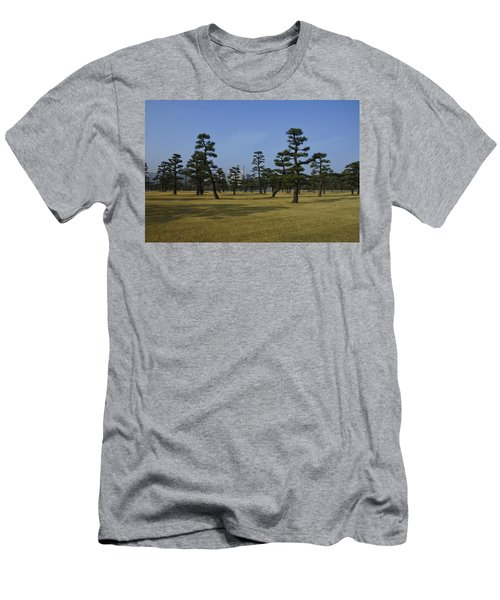 Bonsai Trees And Tokyo Skyscrapers Men's T-Shirt (Athletic Fit)