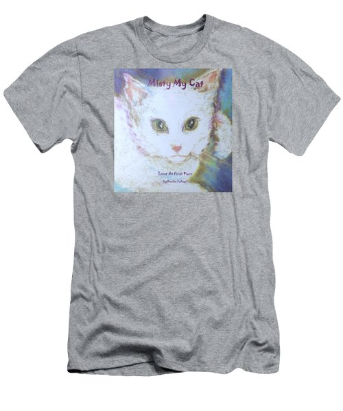 Book Misty My Cat Men's T-Shirt (Slim Fit) by Denise Fulmer