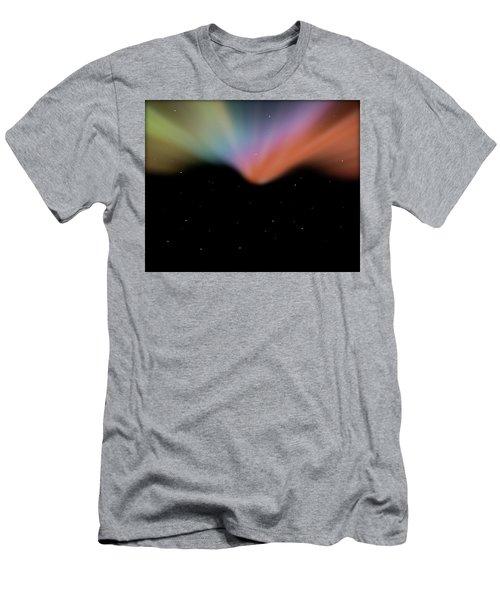 Borealis Men's T-Shirt (Slim Fit) by Carol Crisafi