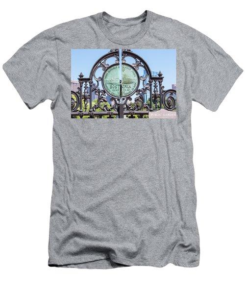 Boston Garden Gate Detail Men's T-Shirt (Athletic Fit)