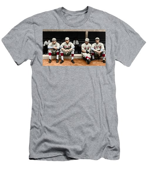 Men's T-Shirt (Athletic Fit) featuring the photograph Boston Red Sox by Granger