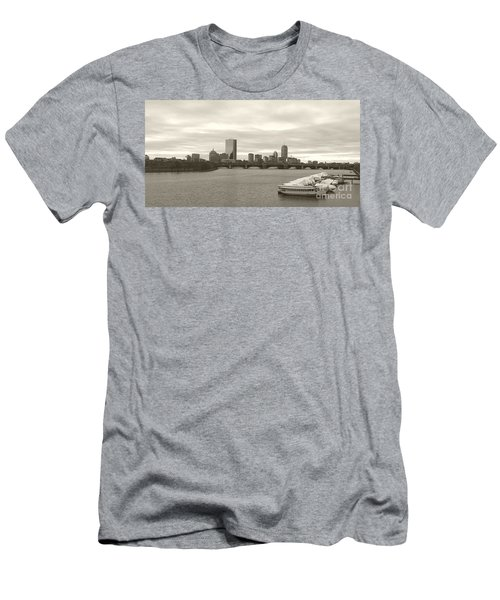 Men's T-Shirt (Slim Fit) featuring the photograph Boston View by Raymond Earley