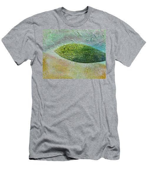 Men's T-Shirt (Slim Fit) featuring the painting Botany II by John Hansen
