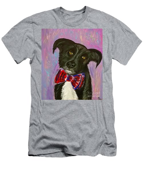 Bow Tie Boy Men's T-Shirt (Athletic Fit)