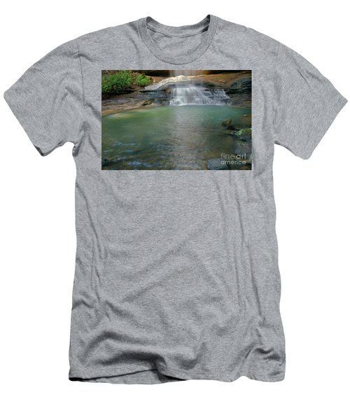 Bottom Of Falls Men's T-Shirt (Athletic Fit)