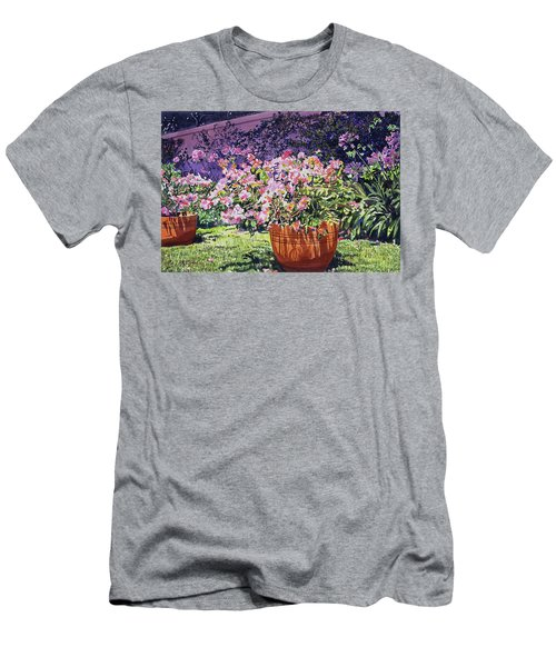 Bougainvillea Flower Pots Beverly Hills Men's T-Shirt (Athletic Fit)