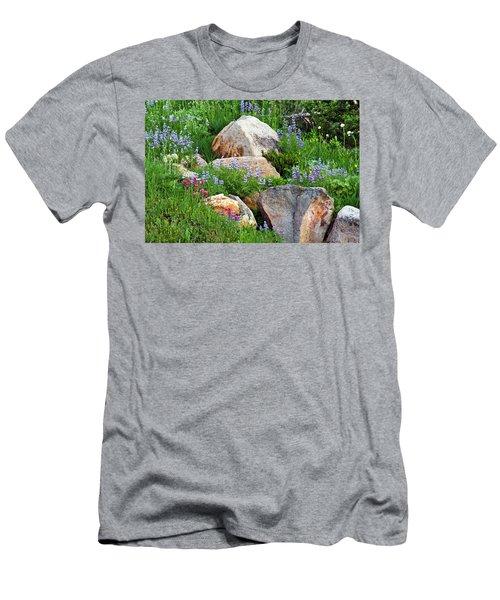 Boulder Blooms Men's T-Shirt (Athletic Fit)