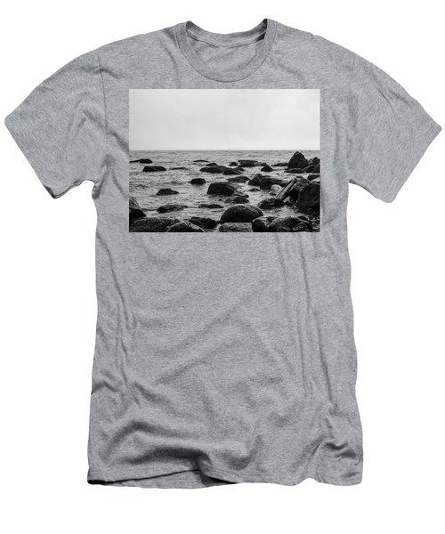 Boulders In The Ocean Men's T-Shirt (Athletic Fit)