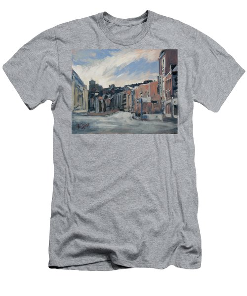 Boulevard La Sauveniere Liege Men's T-Shirt (Slim Fit) by Nop Briex