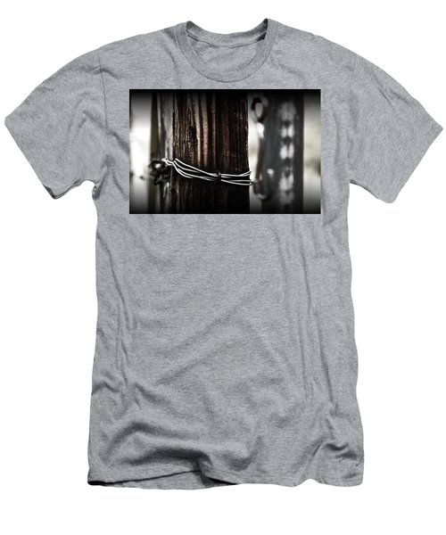Men's T-Shirt (Slim Fit) featuring the photograph Bound  by Mark Ross
