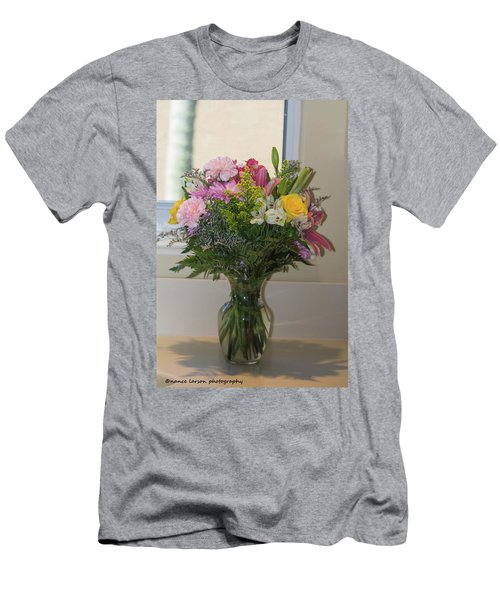 Bouquet Of Flowers Men's T-Shirt (Athletic Fit)
