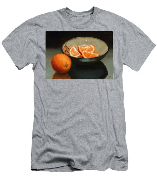 Bowl Of Oranges Men's T-Shirt (Athletic Fit)