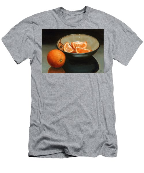 Bowl Of Oranges Men's T-Shirt (Athletic Fit)