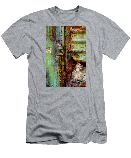 Boxcar 1 Men's T-Shirt (Slim Fit) by Newel Hunter