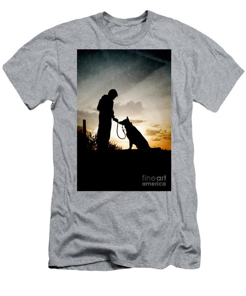 Boy And His Dog Men's T-Shirt (Athletic Fit)