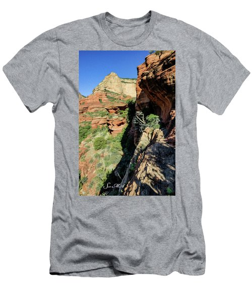 Boynton Canyon 04-420 Men's T-Shirt (Athletic Fit)