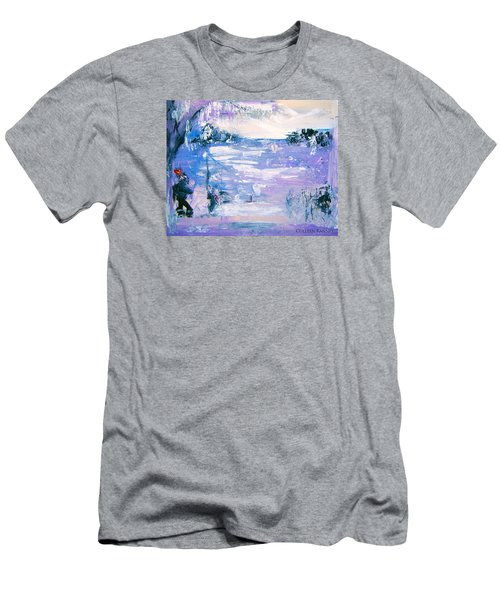 Be Brave By Colleen Ranney Men's T-Shirt (Athletic Fit)