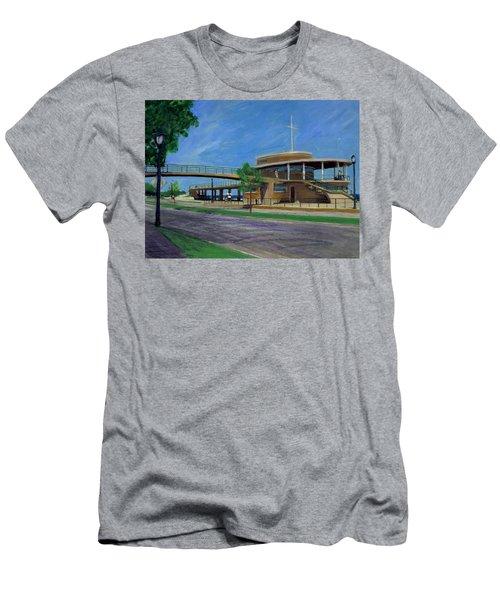 Bradford Beach House Men's T-Shirt (Athletic Fit)